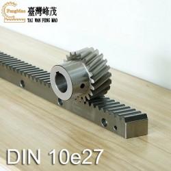 斜齿条DIN 10e27