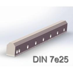 V型导轨斜齿条 DIN7e25