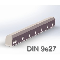 V型导轨斜齿条 DIN9e27