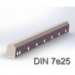 V型导轨直齿条 DIN7e25