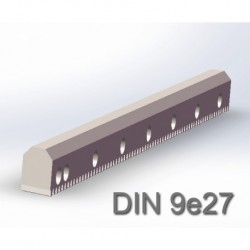 V型导轨直齿条 DIN9e27