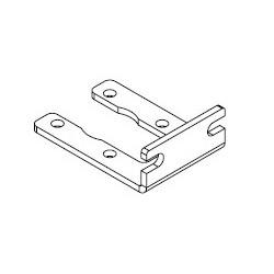 FP气压表安装支架下锁式