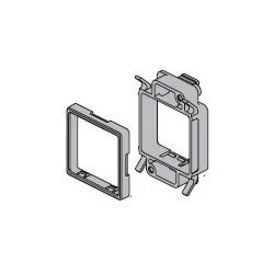 FP气压表安装支架后锁式